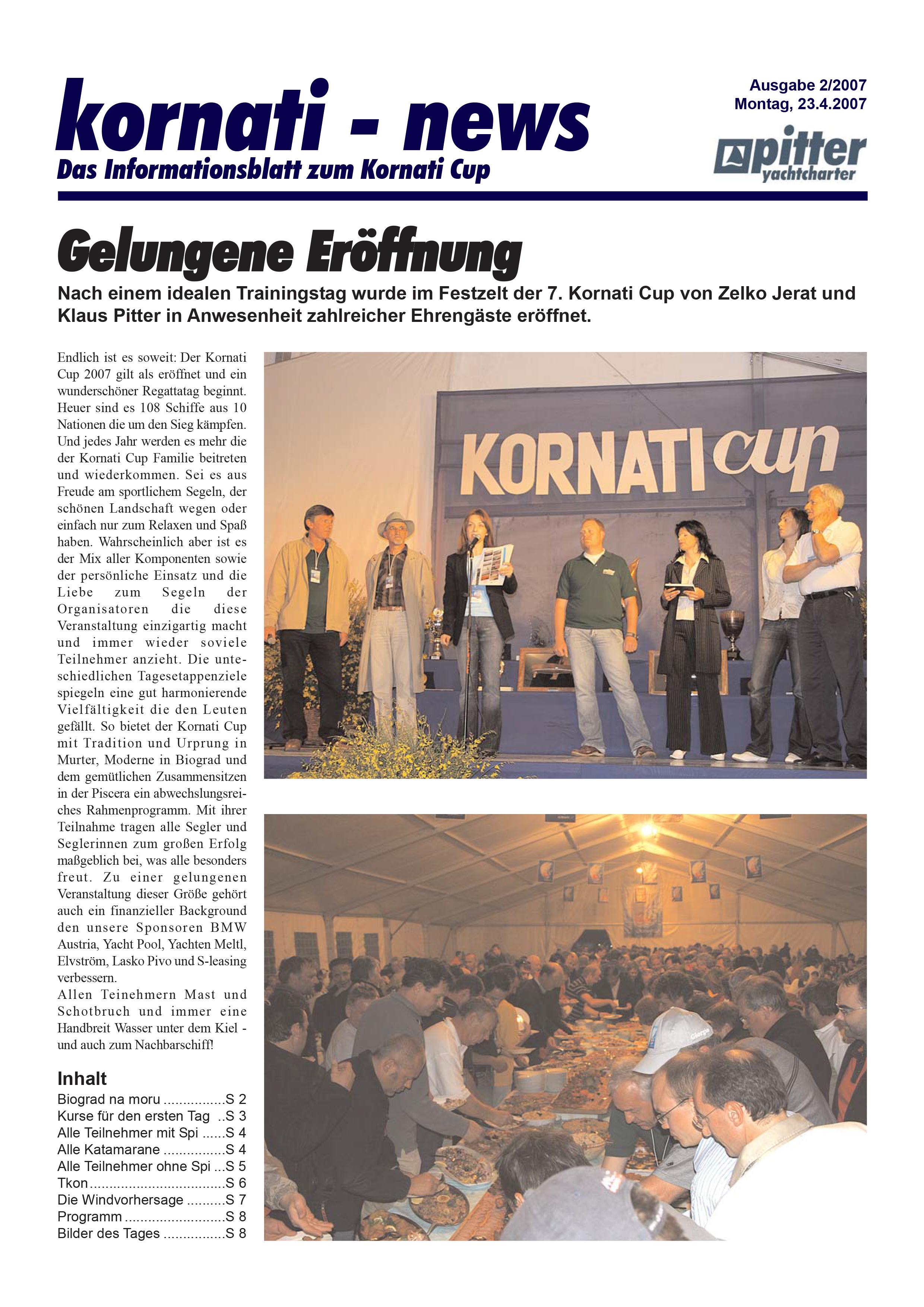 Kornati Cup Revue 2007